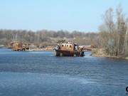 Město Černobyl - lodní přístav