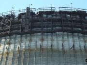 Chladící věž nedokončeného 5 a 6 bloku