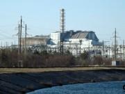 Před černobylskou elektrárnou - 3 a 4 blok