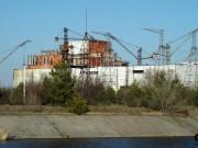 Před černobylskou elektrárnou - nedokončený 5 a 6 blok