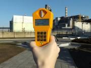 Před černobylskou elektrárnou - 4 blok