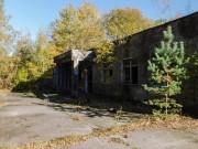 Město Pripjať - skleníky. Po černobylské havárii zde probíhalo experimentální pěstování zeleniny a různých rostlin, na kterých se zkoumal vliv radiace