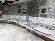 Černobylská jaderná elektrárna - velín 2. bloku