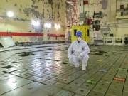Černobylská jaderná elektrárna - moje maličkost na černobylském reaktoru bloku č. 1. :-D