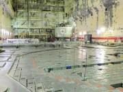 Černobylská jaderná elektrárna - reaktorový sál č.1.