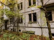 DUGA a přilehlé městečko Černobyl-2