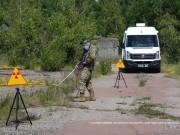 Černobyl: Pohraniční stráž testuje mobilní radiační monitorovací stanici