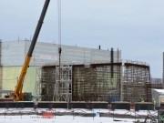 Výstavba nového sarkofágu k 31.1.2016