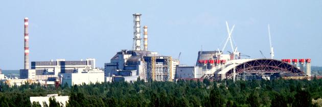 Černobylská jaderná elektrárna