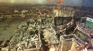 Zničený reaktor č.4