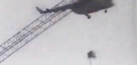Nehoda helikoptéry