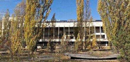 Panoramatické fotografie černobylské zóny