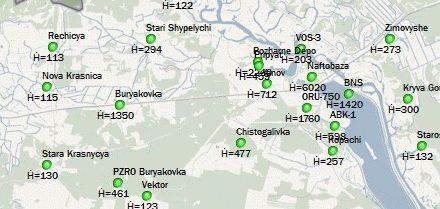 Online radiační situace v Černobylu