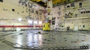 Reaktor č.1. Černobylské elektrárny