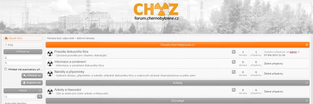 Nové diskusní fórum