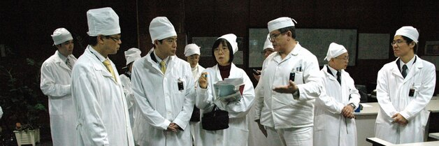 Japonská delegace navštívila Černobyl