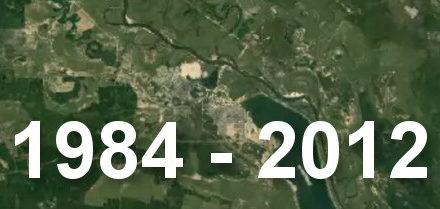 Jak se měnil Černobyl: od roku 1984 po současnost