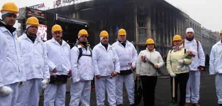 Zaměstnanci černobylské elektrárny uklízeli Kyjev
