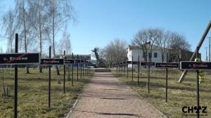 Pomník v Černobylu