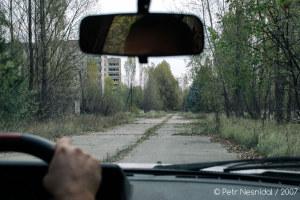 Příjezd do Pripjati