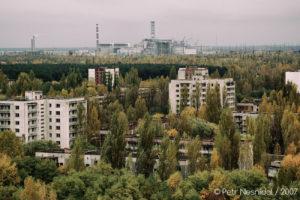 Výhled na elektrárnu