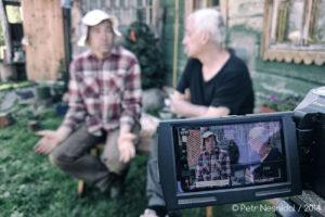 Natáčení rozhovoru