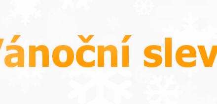 Vánoční slevy na ChernobylShop.cz