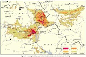 Mapa kontaminace