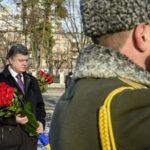 """Dnes je """"Den likvidátorů"""". Pamáku uctil i prezident Ukrajiny Petro Porošenko"""