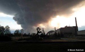 28.4. 2015 - Požár v černobylské zóně