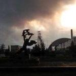 Požár v černobylské zóně!