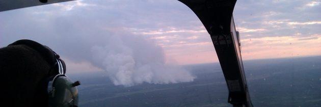 V černobylské zóně vypukl další požár!