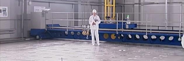 V černobylské zóně otevřeli sklad radioaktivních odpadů