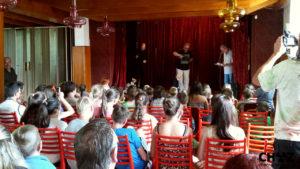 Vystoupení divadla Spejbla a Hurvínka