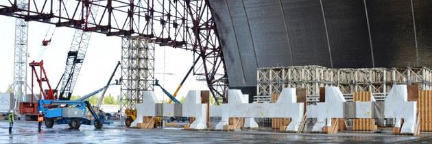 Ukrajina získala na sarkofág dalších 100 miliónů €. Hotovo má být v roce 2017