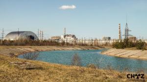 Černobylská jaderná elektrárna 30. let po havárii