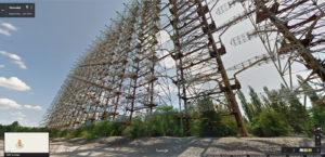 Kdysi tajný vojenský radar DUGA ve Street View