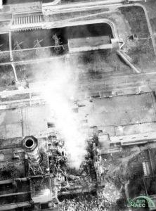 Havarovaný 4. reaktor. Foto: chnpp.gov.ua