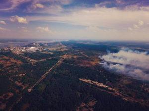 Černobyl - Rudý les