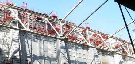 V Černobylu dokončili výstavbu obvodových zdí nového sarkofágu