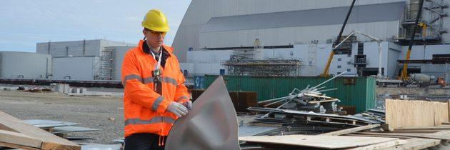 V Černobylu utěsní nový sarkofág pomocí speciálních membrán