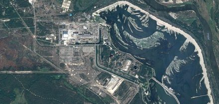 Google aktualizoval letecké snímky Černobylu