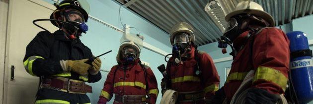 V Černobylské elektrárně proběhlo požární cvičení