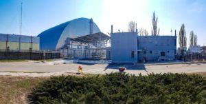 Černobylská elektrárna - duben 2019