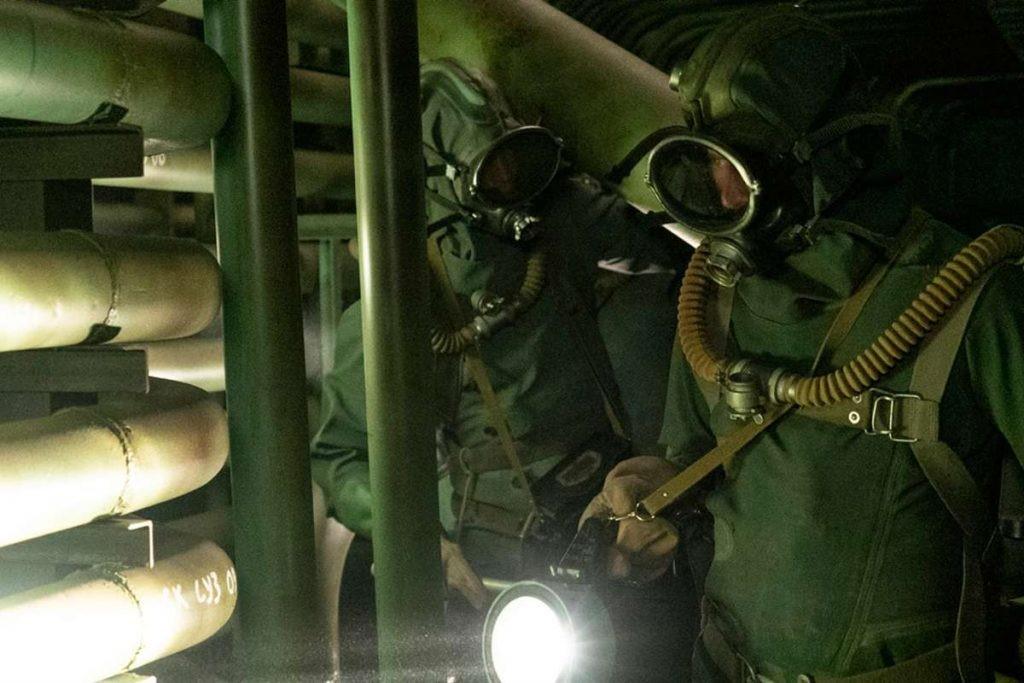 Zobrazení situace vsuterénu pod reaktorem vseriálu (zdroj HBO)