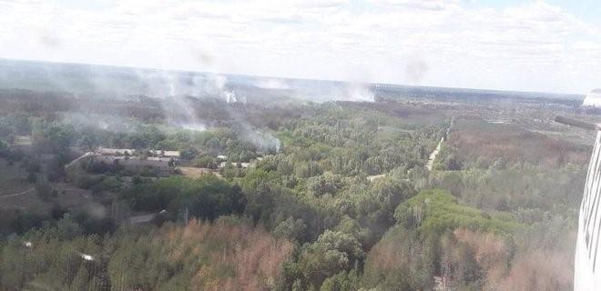 Likvidace lesních požárů v zakázané zóně okolo Černobylské jaderné elektrárny (zdroj Ukrajinská státní služba pro mimořádné události dsns.gov.ua)