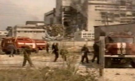 Archivní záběry z likvidace černobylské havárie (duben – listopad 1986)